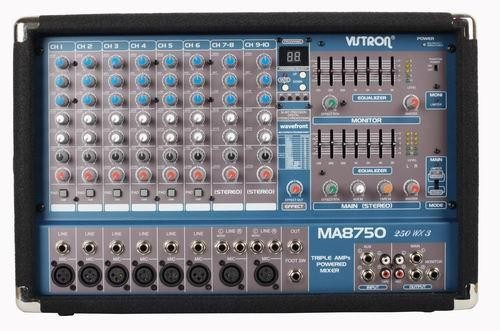VISTRON Power Mixer MA-8750