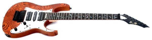 E-Gitarre SUPER3 Modell SZ-77FP (7-Saitig)
