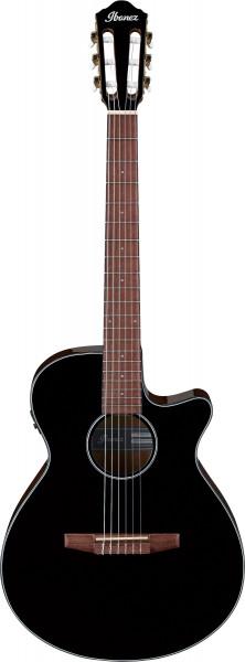 IBANEZ AEG Series Akustik/Elektrische-Gitarre 6 String Black High Gloss, AEG50N-BKH