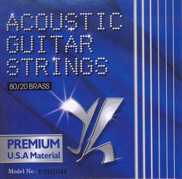 Saiten für Westerngitarre Tomay Premium 10-48