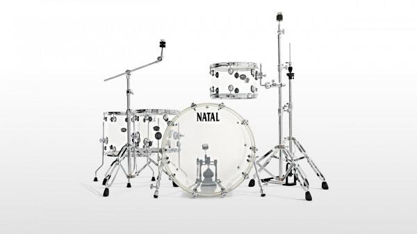 NATAL Shellset, Arcadia Acrylic, A2, 4-tlg., Transparent, NAKACAA2TR1