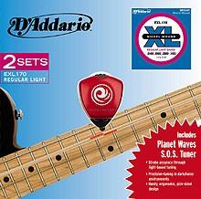Saiten für Bassgitarre EXL170-TP SOS