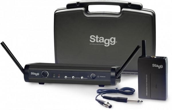UHF-Funksystem f. Gitarre & Bass SUW 30 GBS A EU Stagg