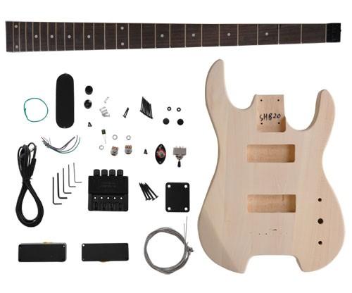 E-Bass Bausatz SUNSMILE Modell GK SHB 20