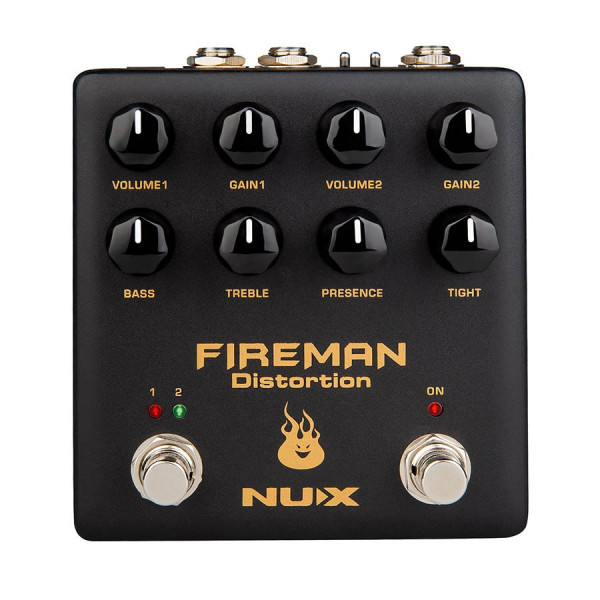 NDS-5 |NUX Verdugo Series distortion FIREMAN