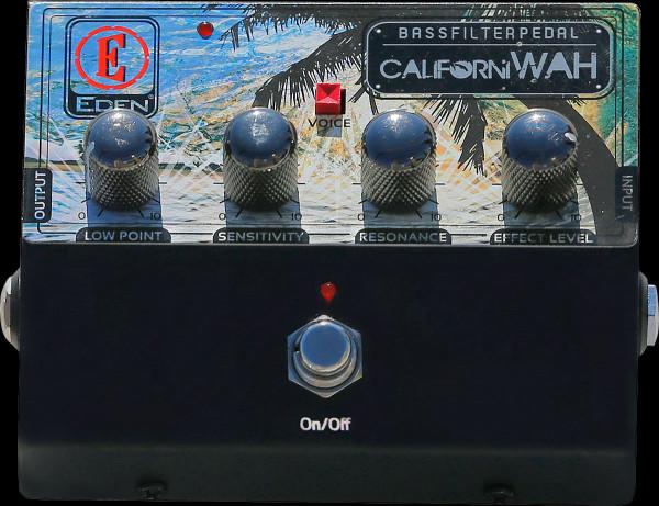 EDEN Effektpedal, für Bass, CaliforniWah, Bass Filter, Wah Pedal, EDCALIWAH