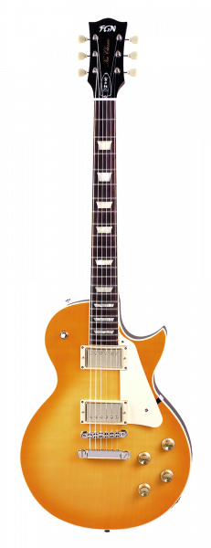 FGN E-Gitarre, Neo Classic LS10, Lemon Drop, Tasche , FGLS10GLD