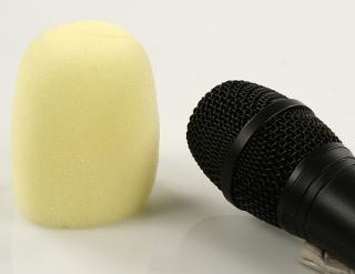 Windschutz für Mikrofone (Gelb)