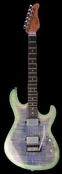 CORT E-Gitarre, G290 LE, Lagoon Beach