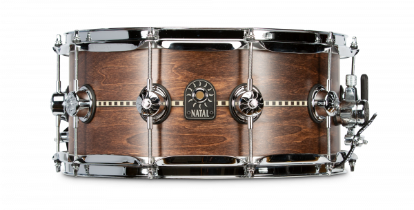 NATAL Snare, Tulipwood mit Inlay, 14x6,5, Satin