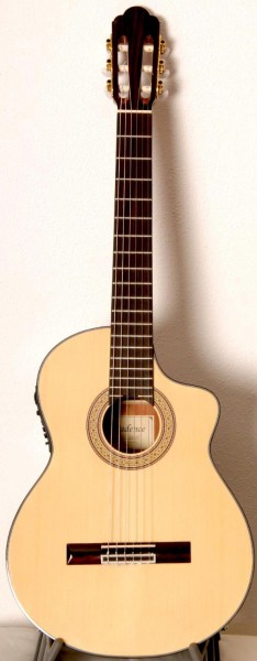 Cadence Konzertgitarre CC-38CEQ