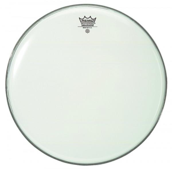 """Remo Schlagzeugfell 15"""" Ambassador Weiß glatt für Timbale"""