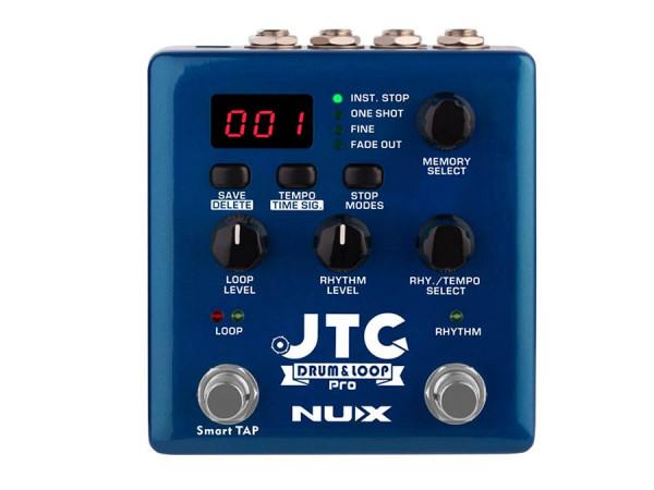 NDL-5 |NUX Verdugo Series dual switch looper pedal DRUM & LOOP PRO