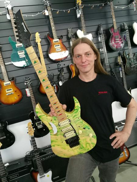 E-Gitarre SUNSMILE SGEM S12