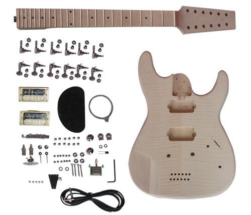 E-Gitarren Bausatz SUNSMILE Modell GK SCT 04