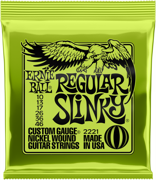 ERNIE BALL Saitensatz, Slinky Nickel, Regular 10-46