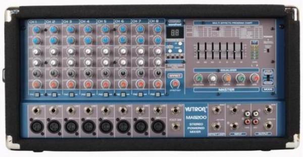 VISTRON Power Mixer MA-8200