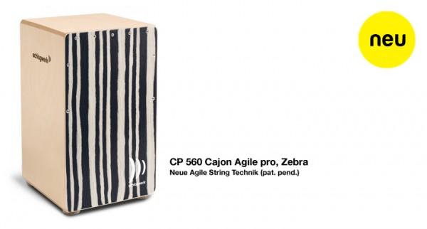 SCHLAGWERK CP 560 Cajon Agile pro, Zebra