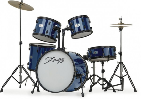 Junior-Drumset Stagg TIM120BL