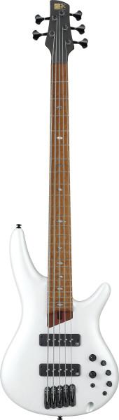 IBANEZ SR-Series E-Bass 5 String Pearl White Matte + Gigbag, SR1105BPWM