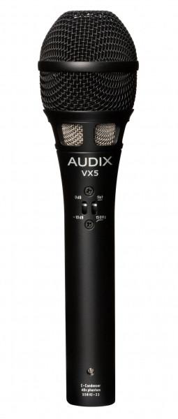 Audix VX5 Kondensatormikrofon für Live-/Broadcastanwendungen