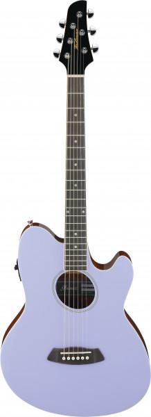 IBANEZ Talman Akustikgitarre Doppel Cutaway Preamp 6 String LavenderTCY10E-LVH