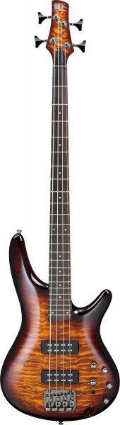 IBANEZ SR-Serie E-Bass 4 String Dragon Eye Burst, SR400EQM-DEB