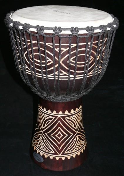 Afrikanische handgeschnitzte Djembe Tomay WMD1324-4