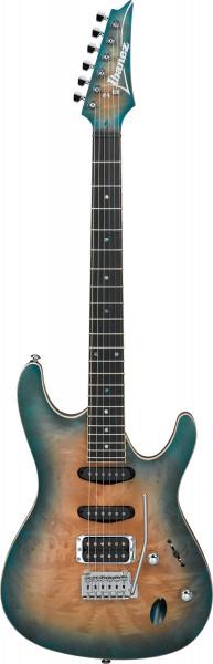 IBANEZ SA-Serie E-Gitarre 6 String Sunset Blue Burst SA460MBW-SUB