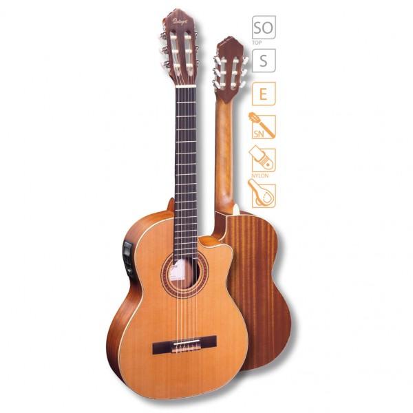 Ortega Konzertgitarre RCE 131SN mit Tonabnehmer