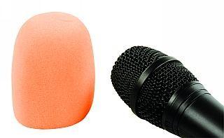 Windschutz für Mikrofone (Orange)
