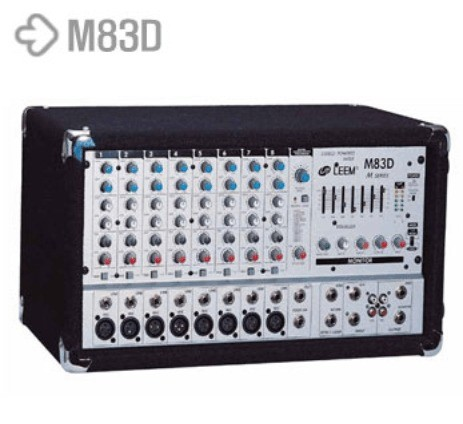 LEEM Power Mixer M83D