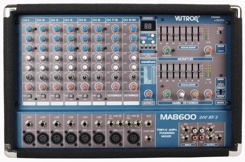 VISTRON Power Mixer MA-8600