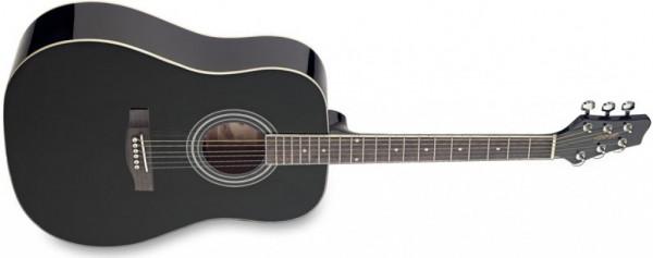 Stagg Westerngitarre 6-Saitig BK