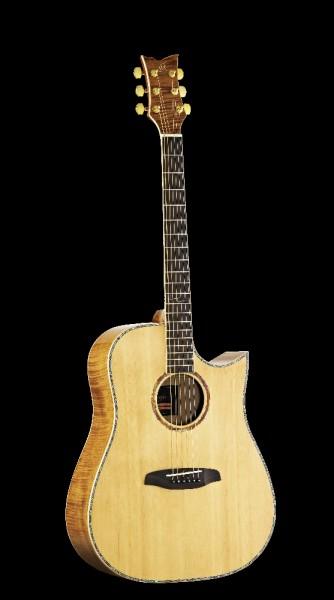 ORTEGA Westerngitarre 6-Saitig OPAL-20CE mit Tonabnehmer