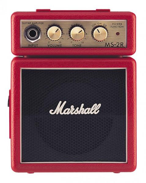 MARSHALL E-Gitarrencombo, 2 Watt, rot, Microbe, MRMS-2R