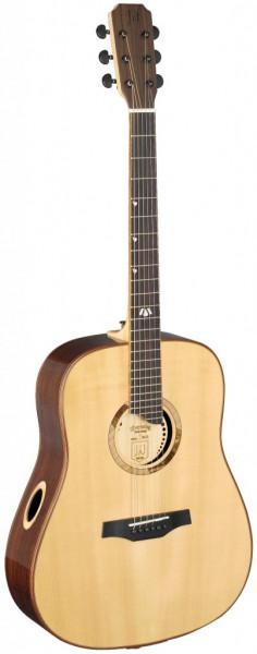 Elijah Serie Dreadnought Akustikgitarre mit Decke aus massiver Fichte