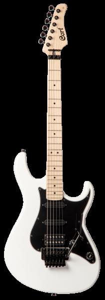 CORT E-Gitarre, G250 FR, weiß, COG250FRWHT