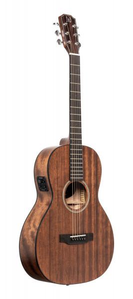 James Neligan DOV-PFI Elektro-akustische Parlor-Gitarre mit massiver Mahagonidecke, Dovern-Serie