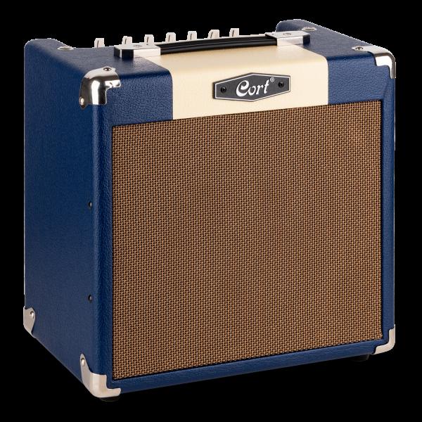 CORT E-Gitarrencombo, CM15R, Dark Blue, 15 Watt , COCM15RDB