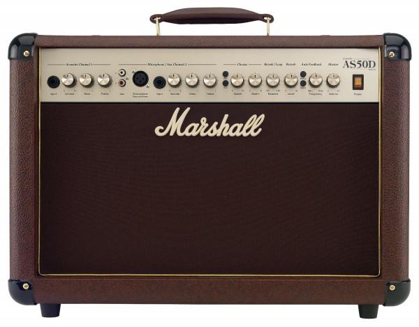 "MARSHALL A-Gitarrencombo, 50 Watt, 2-Kanal, 2x8"", Acoustic Soloist, MRAS50D"