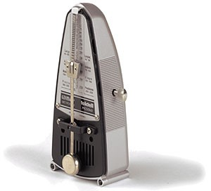 Wittner 838 Piccolo Taktell Silber
