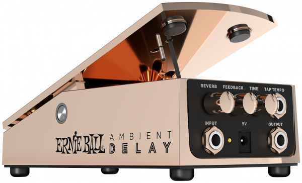 ERNIE BALL Expressionpedal, Ambient Delay, Bronze, EB6184