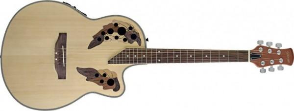 Elektroakustische Shallow Bowl Gitarre mit Cutaway