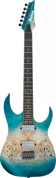 IBANEZ RG Premium Serie E-Gitarre 6 String Caribbean Islet Flat, RG1121-PB-CIF