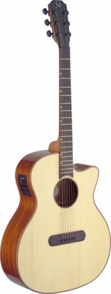 Lismore Series e.a. Auditorium-Gitarre m. Cutaway u. massiver Fi