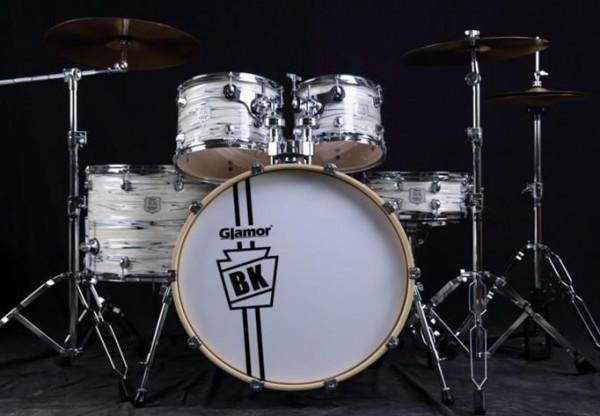GLAMOR 5-teiliges Drum Set BK-522-PT