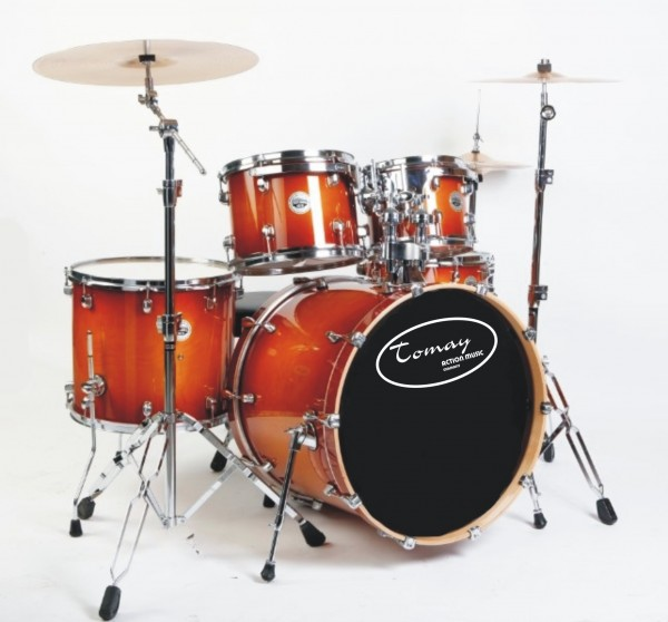 TOMAY DRUMSET GM5-CW-BCB Worldclass