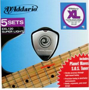 Saiten für E-Gitarre EXL120-5 SOS