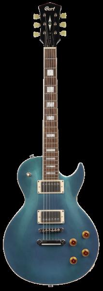 CORT E-Gitarre, CR200, Flip Blue, COCR200FBL